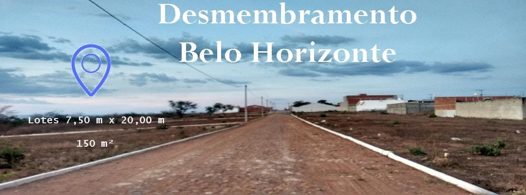 Desmembramento Belo Horizonte